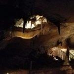 Stalactites, stalagmites, cave bacon, etc.