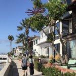 Boardwalk at Balboa Island, Newport Beach, CA