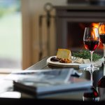 Enjoy Yarra Valley wine & cheese in front of your own fireplace