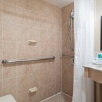 Guest Bathroom with Roll-In Shower