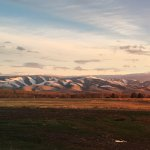 View of Blue Mountains from Walla Walla Garden Motel