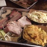 Brisket and Pork Belly, Great Potato Salad and Macaroni!