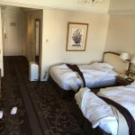 Beds in the room