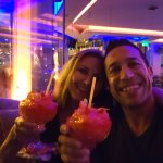 The frozen strawberry daiquiri is excellent but beware brain freeze :-)