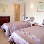 The Suite's super king bed can be converted into Twin Beds on request