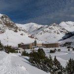 Vista Vall de Núria Invierno