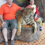 With Mr. Tiger