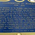 History of Steamboating in Muskoka
