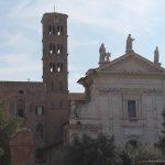 Facciata Santa Francesca Romana