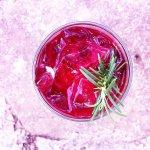 Koko's Rosemary Hibiscus Iced Tea