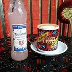 Lemonade and latte