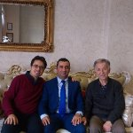 My father and I with Mr. Hakan