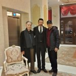 My father and I with Mr. Sirkan