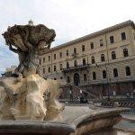 Rome: Place de la Bouche de la Vérité.