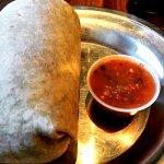 The famous Bueno burrito!