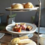 Afternoon tea selection as served