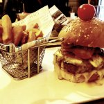 Can't go wrong- impressive burger/bun & fries...and I'm from Texas.