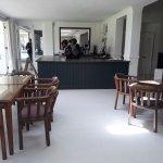 Plenty of space in the restaurant