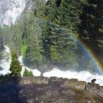 Rainbow on Mist Trail