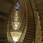 le fameux escalier elliptique