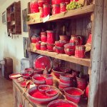 Favorite pottery - the Red collection