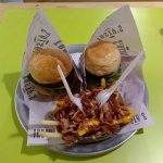 hamburguesas con papas tasty