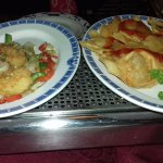 Salt n Chilli Prawns and Wantons