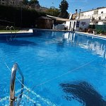One of the rare restaurants with a great pool and garden..