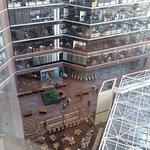 View of the Atrium from my room