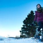 Outdoor Winter fun on the shores of Lake Superior - Bluefin Bay on Lake Superior
