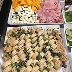 Food at the executive lounge!