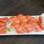 tris di salmone