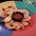 Coconut shrimp, peel n eat, stuffed grouper, lobster fritters