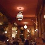 Restaurant of La Maison Arabe Foto