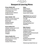 Need a room for a banquet or meeting?  Have a catering needing done?  Call us 719-346-8790.