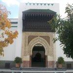Un des nombreuses portes de la grande mosquée de Paris