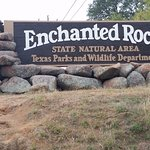 Entrance to Enchanted Rock Area