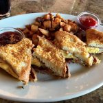 French Toast sandwich (Sunday brunch special)