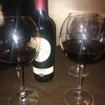 Great place, perfect wine ( the Sicilian one (red)), fantastic servings. The stuff was really fr