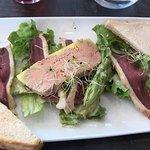 Foie gras avec magrets