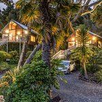 The Street Entrance for The Treetops and The Palms at 10 Bayview Road, Paihia