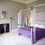 One of Four Poster rooms, overlooking our stunning gardens