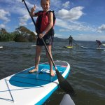 Kids love SUP paddling!