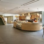 The Seaport Café proudly serves Starbucks beverages and house-made sandwiches, soups, salads & m