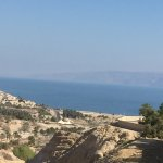 View to the desert and Dead Sea