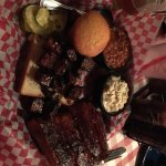 Ribs and burnt ends