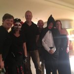 Hallowe'en celebration and a few of the tremendous efforts in dressing up!
