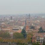 Blick auf die Altstadt von Verona