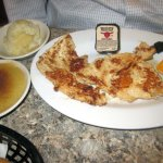 Grilled Chicken with Mashed Potatoes & Applesauce