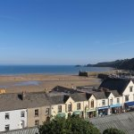 The Gower room view across Saundersfoot Habour